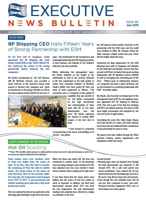 Executive News Bulletin